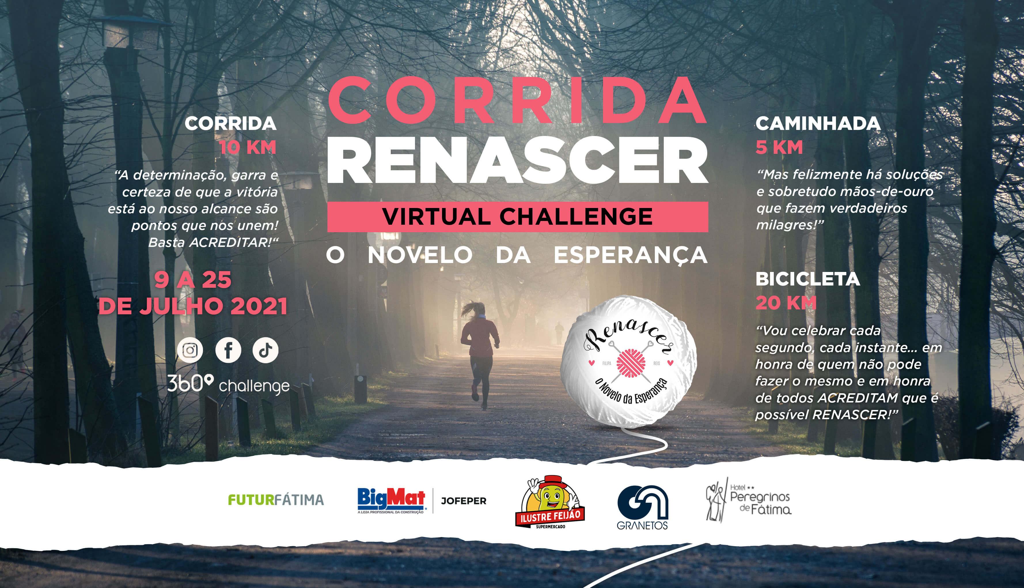 Corrida Renascer - Virtual Challenge
