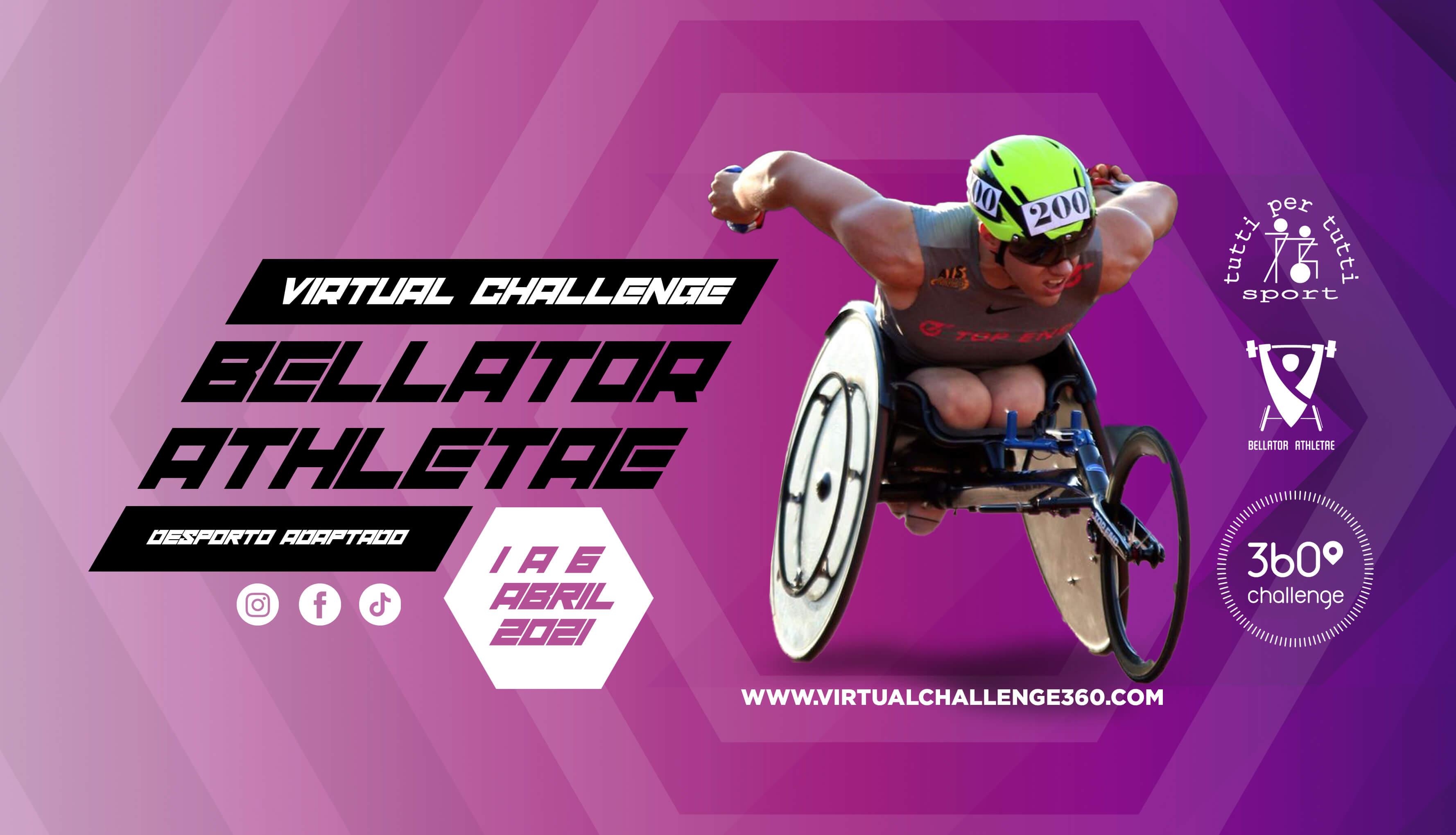 Virtual Challenge Bellator Athletae